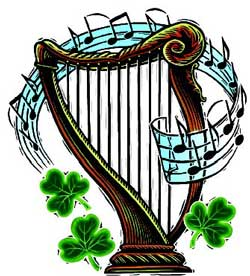Image result for CELTIC HARP CLIPART